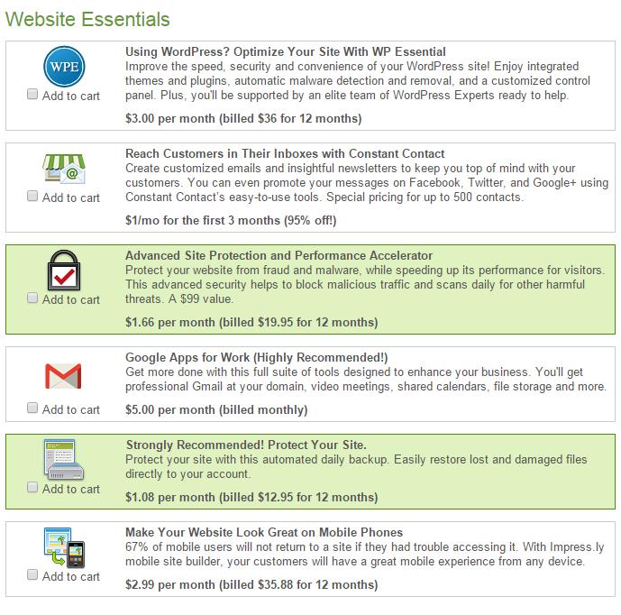 iPage Website Essentials